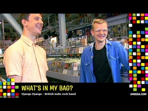 Django Django - What's In My Bag?