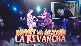Aczino vs Invert | LA REVANCHA EN 2017 | Video Reaccion