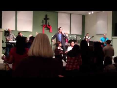 2014 Living Hope Christian Center worship singing Holy is He.