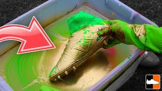How To Hydro Dip Football Boots!