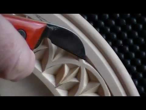 Chip Carving a Plate Border