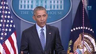 Obama's Final News Conference- Full Event
