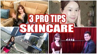 3 Secrets for Crystal Clear Skin! 美肌になるためのスキンケア #MelodeeinSingapore #ChangeDestiny Part 2