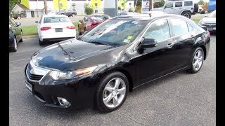 2011 Acura TSX Tech Package Walkaround, Start up, Tour and Overview