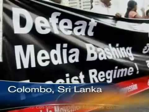 Sri Lankan Government and Rajapaksa family kill off Lasantha Wickrematunge and terrorize Media