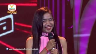 The Voice Cambodia - កែវ ពីលីកា - គ្មានថែ្ងអូនមិនយំ - 07-09-2014