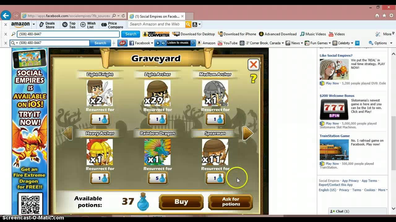 Titan Social Titan on Social Empires