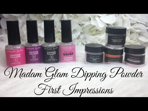 Madam Glam Dipping Powder First Impressions