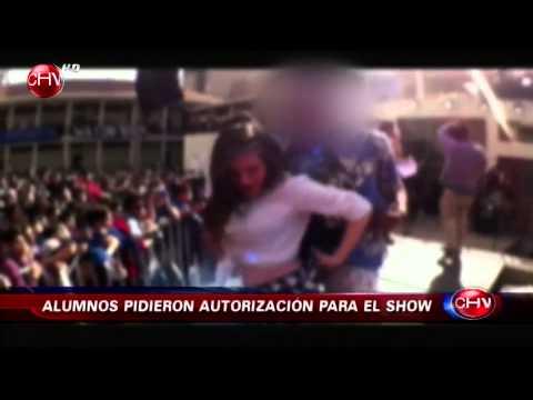 Video de show erótico en Liceo Lastarria genera gran controversia - CHV Noticias