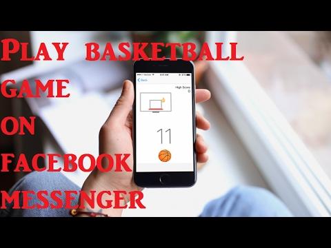 Hidden game in facebook Messenger