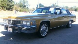 1977 Cadillac Sedan Deville Start Up, Exhaust, and In Depth Tour