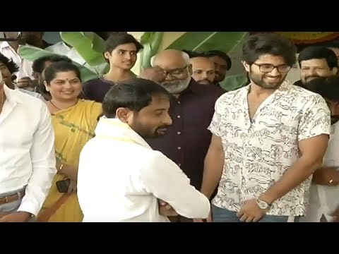 Vijay Deverakonda's New Movie Dear Comrade Launch Event Pooja | Rashmika Mandanna | Tollywood Nagar