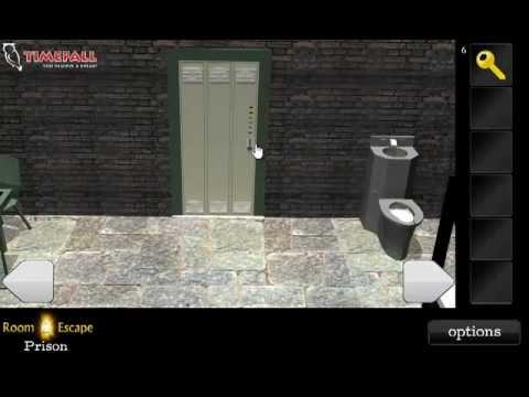 Room Escape - Prison Walkthrough