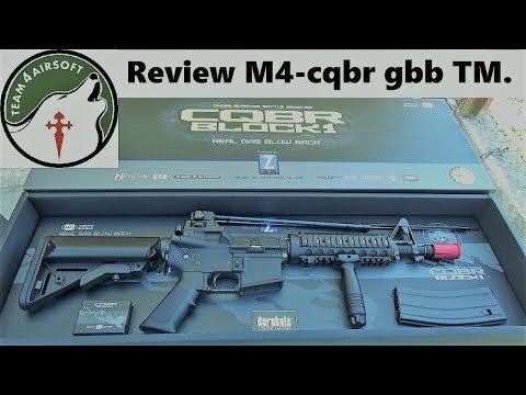 Review M4 CQB-R GBB (GAS) Tokyo Marui en Español | Duke Airsoft | M4A1 MWS GBBR