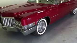 1970 Cadillac DeVille At Celebrity Cars Las Vegas