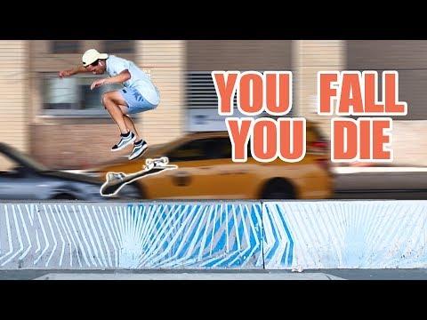 SKATEBOARD DEATH DROP!  *You Fall, You Hospital*