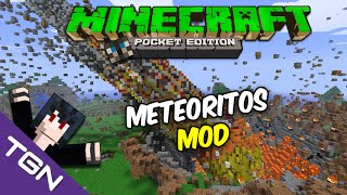 Minecraft Pocket Edition 0.13.1-Meteoritos Mod