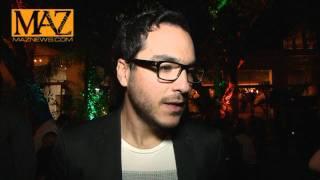 Rodrigo Davila de Grupo Motel Presente en los Premios OYE