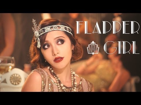 Gatsby 1920s Flapper Girl