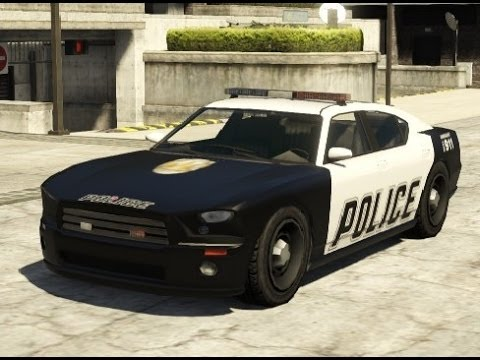 GTA V - how to get Police Buffalo Cruiser Rare car