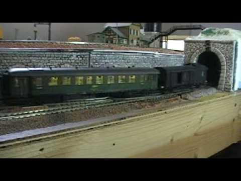 ROCO CLAREL Loksound - voitures Bastille ROCO et Trois Pattes LS MODELS Video