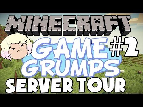 Game Grumps Minecraft Server Tour - Commander Holly Craft - PART 2