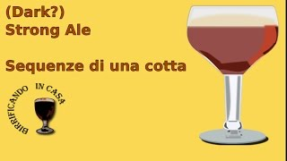 All Grain - Dark Strong Ale - Sequenze di una cotta