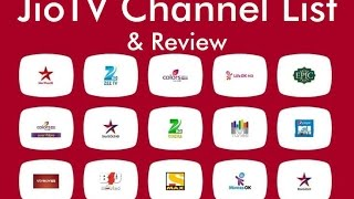 Jio TV Channel List   JioTV App Review and TV Channel Recording with Live TV