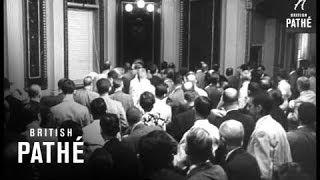 Eisenhower-Khruschev Will Exchange Visits (1959)