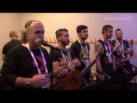 Koza Mostra feat. Agathon Iakovidis - Alcohol Is Free (Greece) First rehearsal