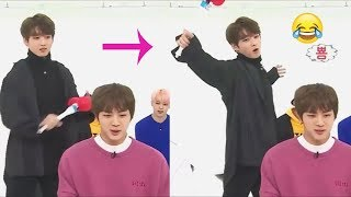 BTS Jungkook (정국) bullies his hyungs :) #EvilMaknae