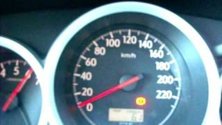 "Honda city"" 06 Acceleration test 0-100 km/h"