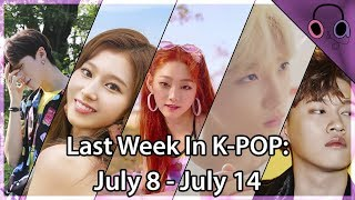 Last Week In K-POP: July 8 - July 14