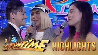 It's Showtime Miss Q and A: Vice Ganda leaves Ate Girl Jackque for Greg