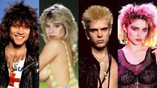 80s MUSIC STARS ⭐ Then and Now