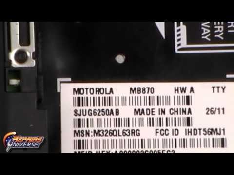 Determine Touch Screen Version for Motorola Droid X2