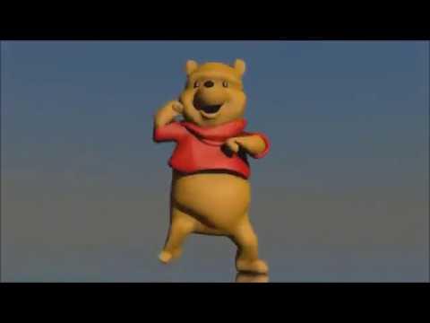 winnie the pooh dancing to pitbull (long version)