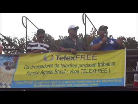 Tv Record Mega Protesto em Salvador BA a Favor da TelexFREE Parte2