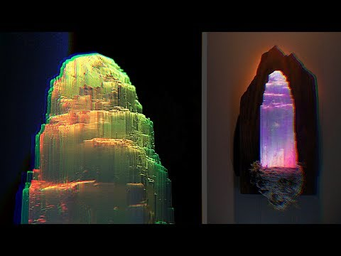 How to make a color changing crystal light (amazing DIY)