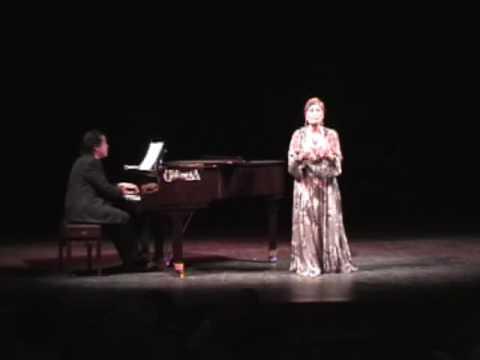 JOSEFINA MENESES canta NANA, CANCION Y POLO en versión lirica de M de Falla