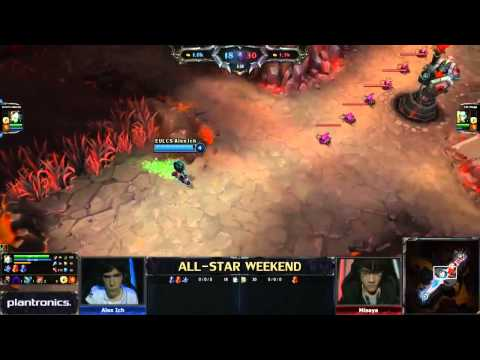 All-Star 1v1 tournament - Alex Ich (AP Tristana) vs Misaya (AD Orianna) - Semi Finals