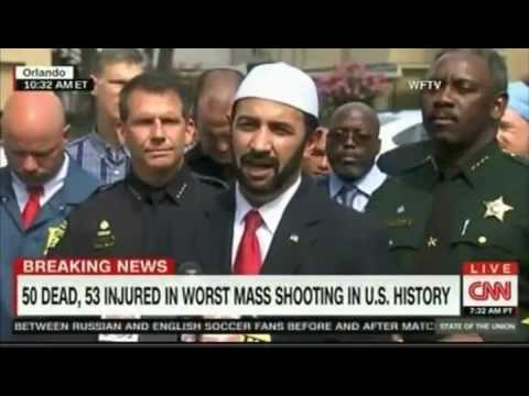 Imam Muhammad Musri President of the Islamic Society of Central Florida comments on the shooting
