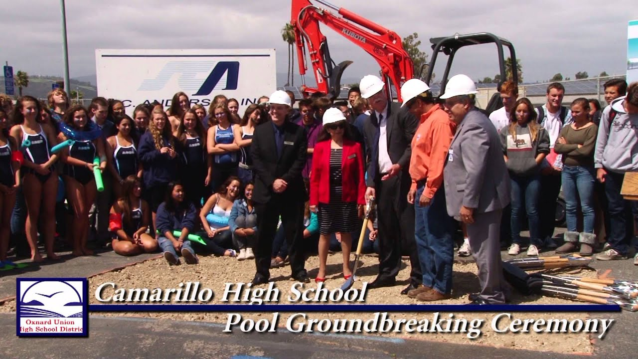 Adolfo Camarillo High School Graduation Camarillo High School Pool