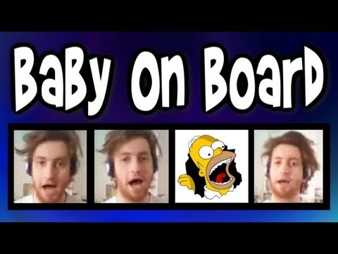 Baby on Board (Simpsons) - A CAPPELLA barbershop one man multitrack theme song - Julien Neel trudbol