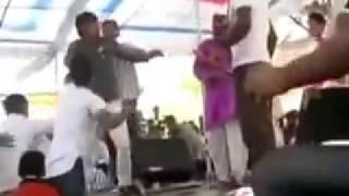 Fight in Sapna New Dance    Super Dance haryanvi 2015   Wapsow Com