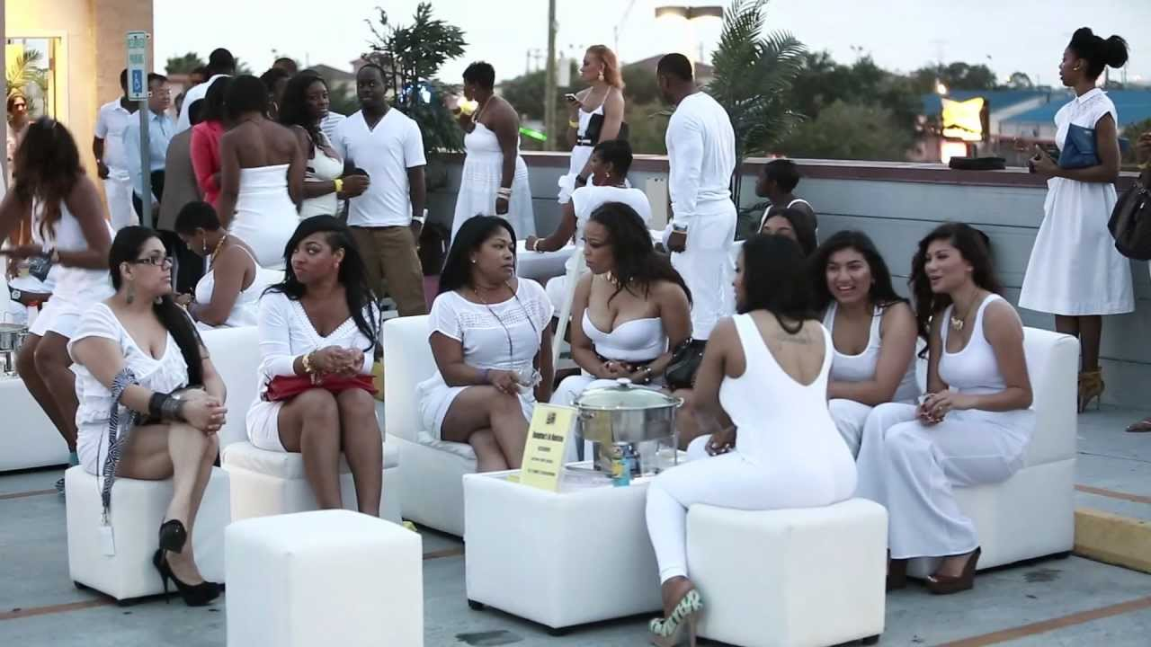 ICON All White Rooftop Party, fashion show, and fundraiser ...