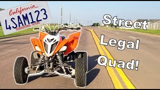 Street Legal Quad! | Raptor 700