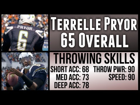 Madden 13 Ultimate Team: Winning With TERRELLE PRYOR (65 Overall)
