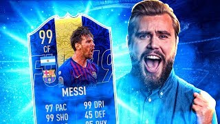 HOE GOED IS MIJN FIRST OWNER 99 TOTY MESSI!?