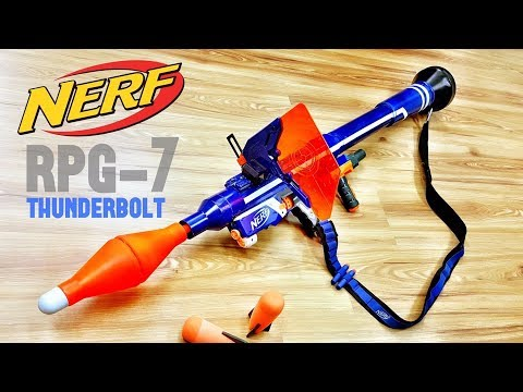 NERF ROCKET LAUNCHER *RPG MOD*